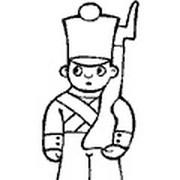 Как нарисовать оловянного солдатика поэтапно карандашом для