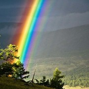 Rainbow  *** on My World.